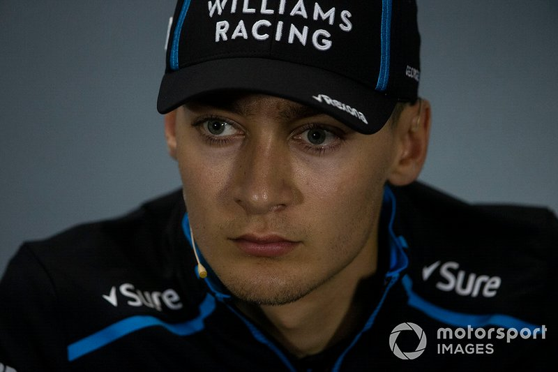 George Russell, Williams Racing In the Press Conference