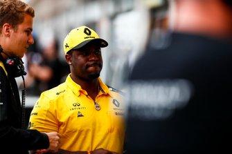 Рэпер ASAP Ferg в гостях у команда Renault Sport F1 Team