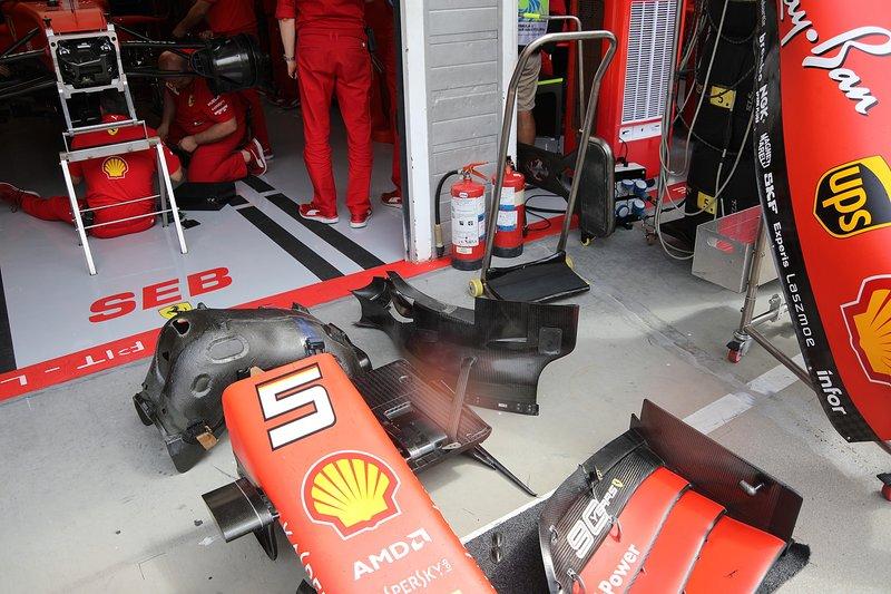 Ferrari SF90, technical detail