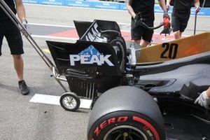 Kevin Magnussen, Haas F1 Team VF-19 detalle del alerón trasero