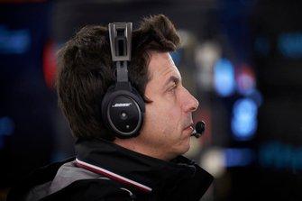 Toto Wolff, directeur exécutif, Mercedes AMG