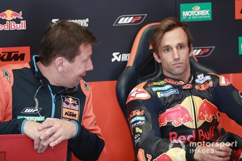 Johann Zarco, Red Bull KTM Factory Racing, mit Marcus Eschenbacher