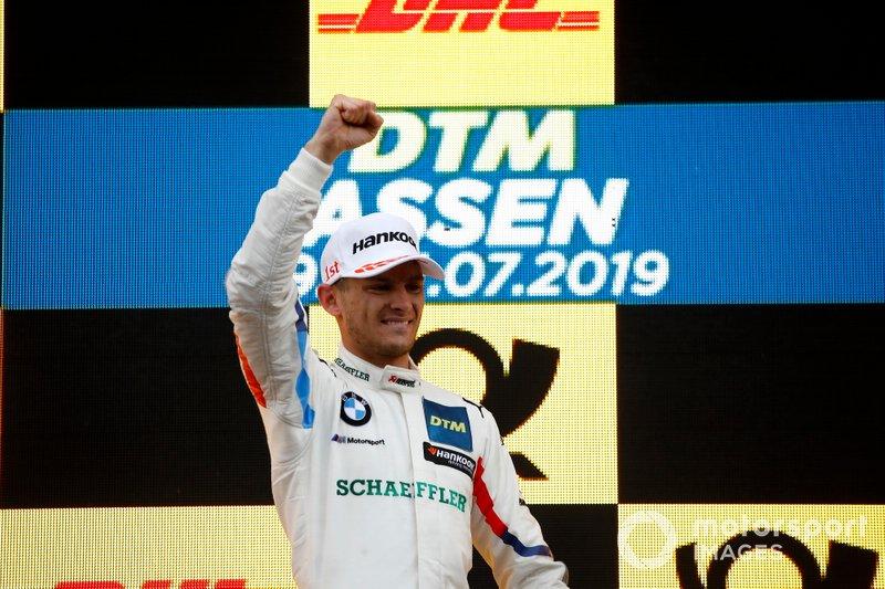 Podio: Marco Wittmann, ganador de la carrera, BMW Team RMG