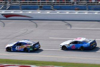 Ryan Preece, JTG Daugherty Racing, Chevrolet Camaro Kroger, Ryan Newman, Roush Fenway Racing, Ford Mustang Wyndham Rewards