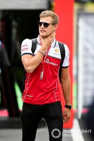 Marcus Ericsson, ambasciatore e terzo pilota, Alfa Romeo Racing