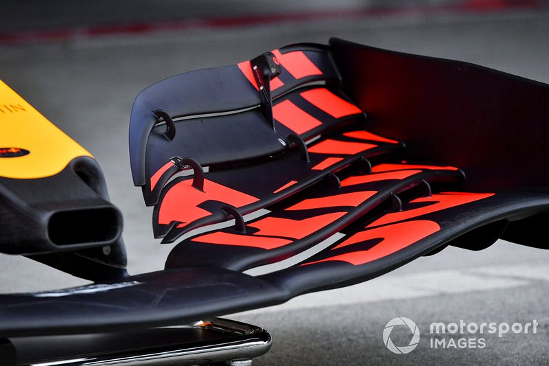 Aileron avant de la Red Bull Racing RB15