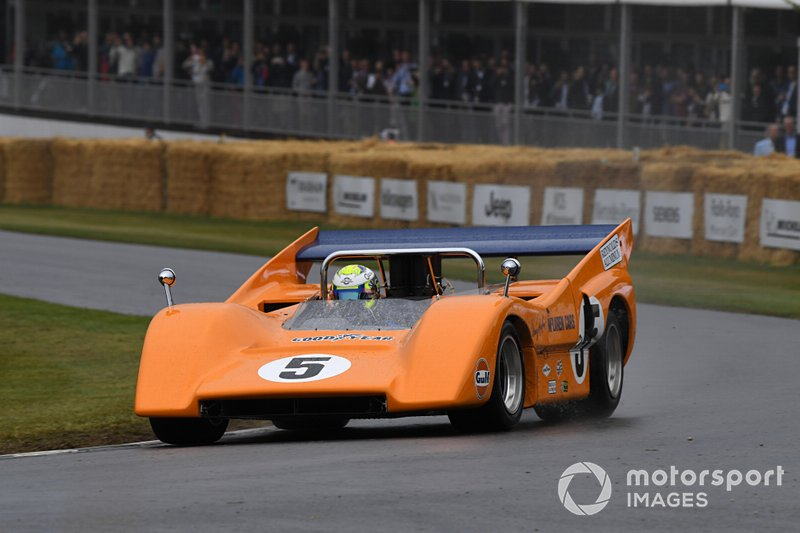 McLaren M8D Lando Norris