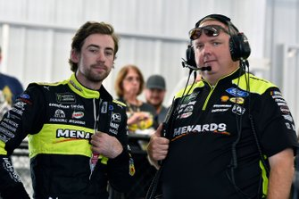 Ryan Blaney, Team Penske, Ford Mustang Menards/Richmond and Jeremy Bullins