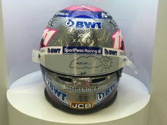 Helm van Sergio Perez, Racing Point