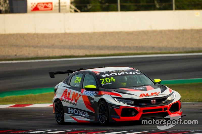 Robin Vaks, ALM Honda Racing Hondo Civic TCR