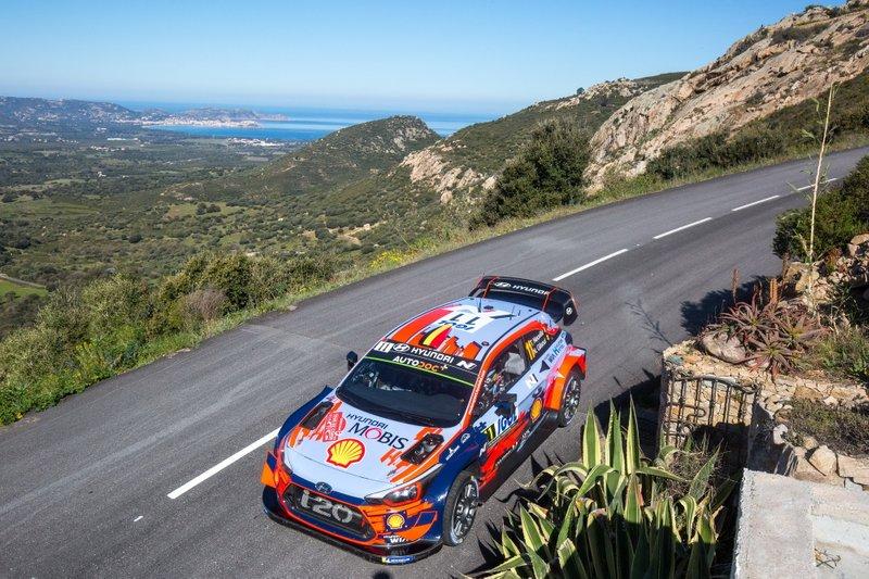 WRC Tour of Corsica