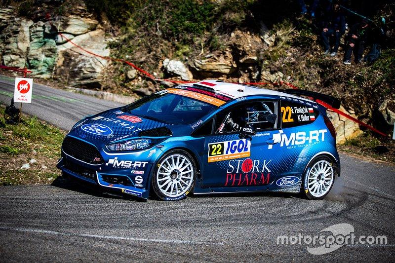 Lukasz Pieniazek, Kamil Heller, Ford Fiesta R5
