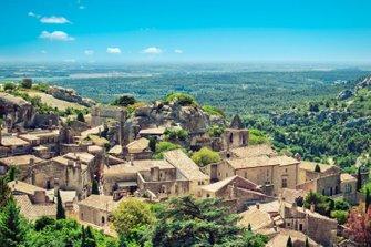 Les Baux de Provence overview