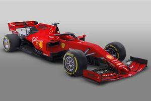 Ferrari SF90 mit Sonderdesign für den GP Australien 2019 in Melbourne