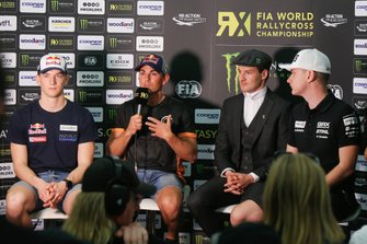 Press Conference, Kevin Hansen, Team Hansen MJP, Cyril Raymond, GCK Academy, Andreas Bakkerud, Monster Energy RX Cartel, Reinis Nitiss, GRX Taneco