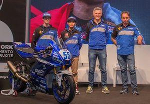 Jacopo Facco, Galang Hendra, Semakin di Depan - Biblion MotoXRacing, Alberto Barozzi, Yamaha Motor Europe bLU cRU Racing Manager