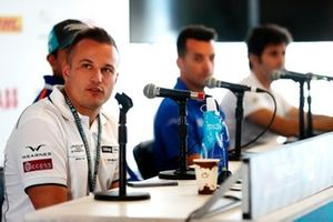 Simon Evans, Team Asia New Zealand, in conferenza stampa