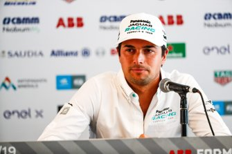 Nelson Piquet Jr., Panasonic Jaguar Racing in conferenza stampa