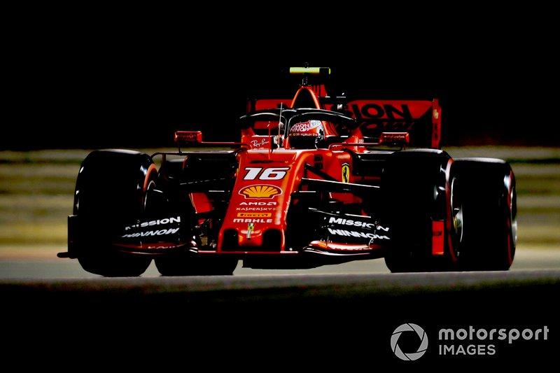2: Charles Leclerc (Ferrari) 21 05 14, Bahrain 2019