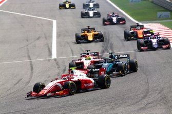 Sean Gelael, PREMA RACING, Sergio Sette Camara, DAMS e Mick Schumacher, PREMA RACING