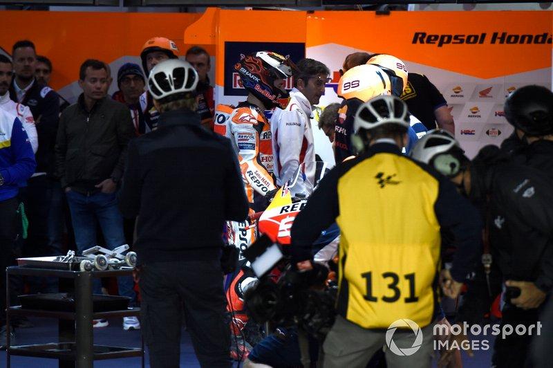 Хорхе Лоренсо, Repsol Honda Team, після аварії
