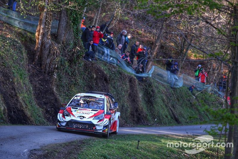 Kris Meeke, Sebastian Marshall, Toyota Yaris WRC, Tour de Corse