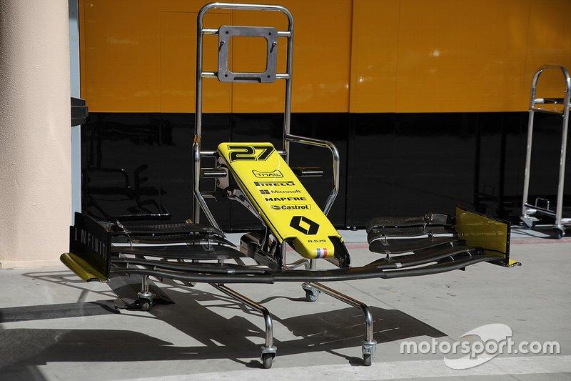 Detalles técnicos del Renault F1 Team