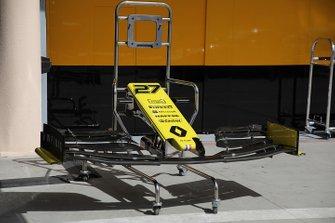 Renault F1 Team R. S. 19, ala anteriore