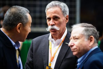 Chase Carey, Chairman, Formula 1, and Jean Todt, President, FIA
