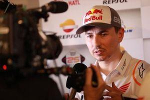 Jorge Lorenzo, Repsol Honda Team with media