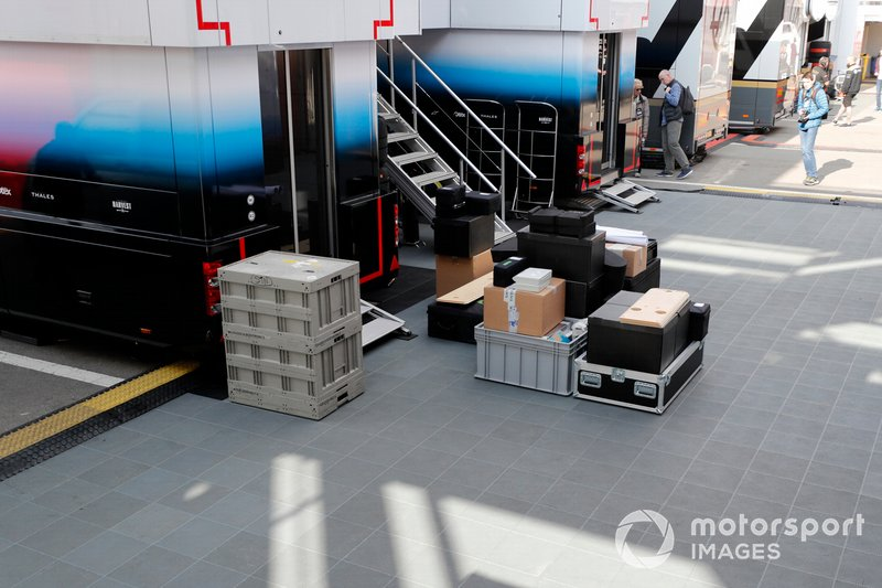 Williams Racing freight