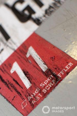 Lucas Di Grassi, Audi Sport ABT Schaeffler, Audi e-tron FE05, garaj detay