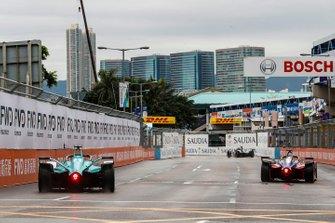 Pascal Wehrlein, Mahindra Racing, M5 Electro Oliver Turvey, NIO Formula E Team, NIO Sport 004