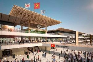 Hanoi circuit paddock rendering
