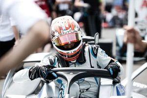 Edoardo Mortara, gets into his Venturi Formula E Venturi VFE05