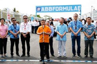 Alejandro Agag, CEO, Formula E, Jean Todt, FIA President