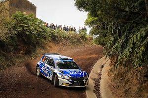 Łukasz Habaj/Daniel Dymurski Skoda Fabia R5 Rallye Azores