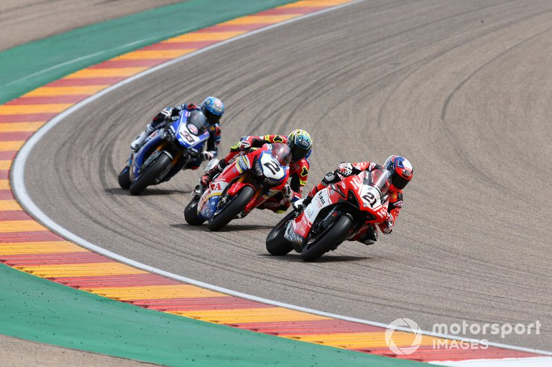 Michael Ruben Rinaldi, Barni Racing Team, Leon Camier, Honda WSBK Team