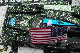 #10 Wayne Taylor Racing Cadillac DPi: Renger Van Der Zande, Jordan Taylor, Fernando Alonso, Kamui Kobayashi, Race Winners, Celebration