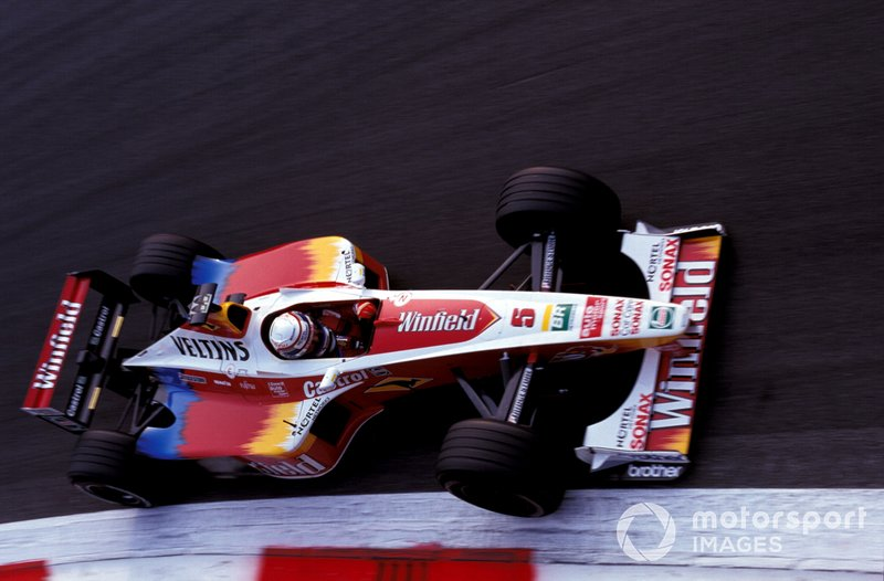Alex Zanardi, Williams