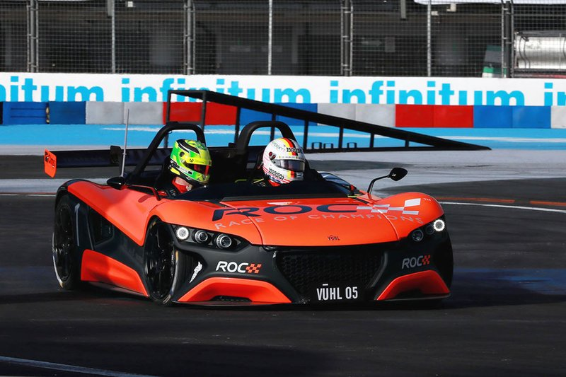 Sebastian Vettel, Mick Schumacher, VUHL 05 ROC Edition 2019