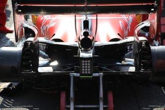 Detalle del difusor Ferrari SF90