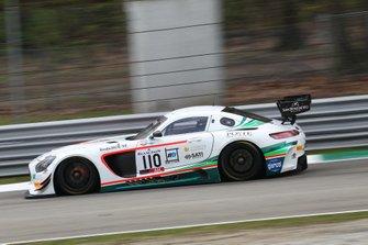 #110 Antonelli Motorsport Mercedes-AMG GT3: Marco Antonelli, Davide Roda, Giuseppe Cipriani