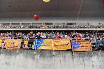 Fans van McLaren