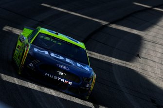 #21: Paul Menard, Wood Brothers Racing, Ford Mustang Menards / MOEN