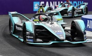 Nelson Piquet Jr., Panasonic Jaguar Racing, Jaguar I-Type 3, Mitch Evans, Panasonic Jaguar Racing, Jaguar I-Type 3