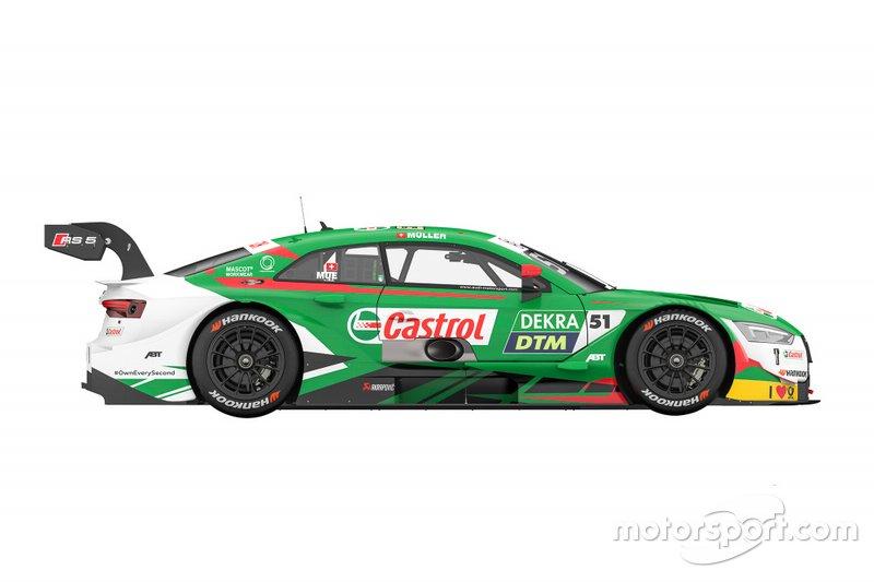 Окрас Audi RS5 DTM Нико Мюллера