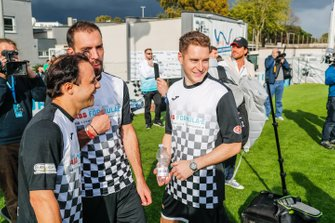 Stoffel Vandoorne, HWA Racelab, Felipe Massa, Venturi Formula E, at the Formula E charity football match