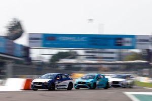 Bryan Sellers, Rahal Letterman Lanigan Racing Salvador Duran, Jaguar VIP car
