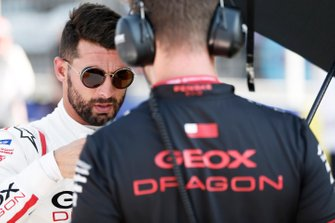 Jose Maria Lopez, GEOX Dragon Racing, Penske EV-3, on the grid